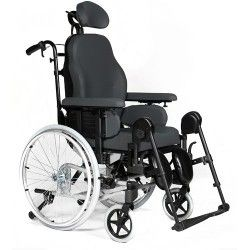 Breezy Relax 2 - Silla de Ruedas de Posicionamiento Basculante y Reclinable Sunrise Medical