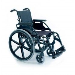 Silla de Ruedas Plegable de Acero Breezy 250 PREMIUM - Sunrise Medical